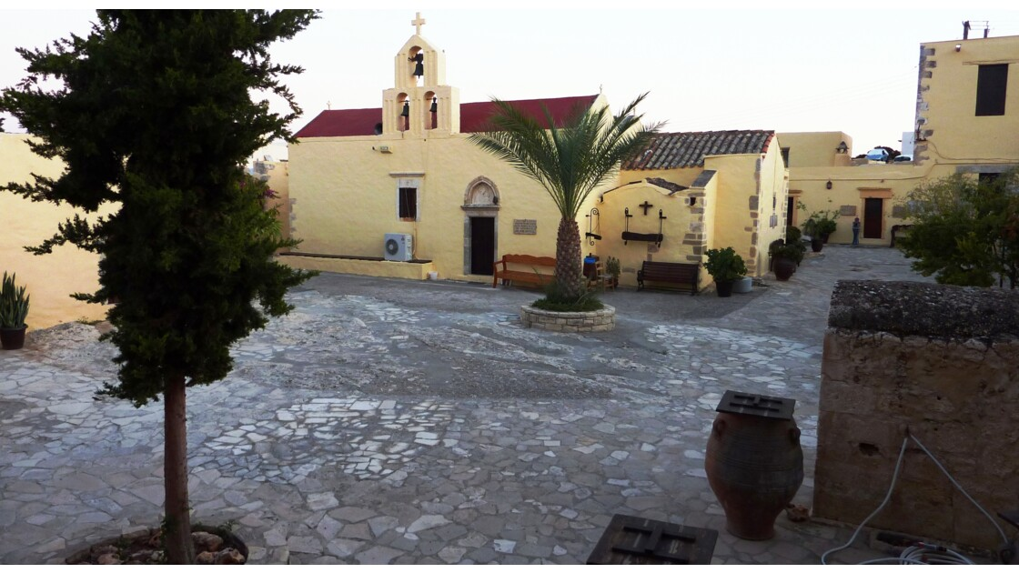 Crète - Monastère Moni Audigitrias