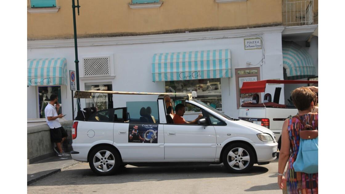 Taxi à Capri