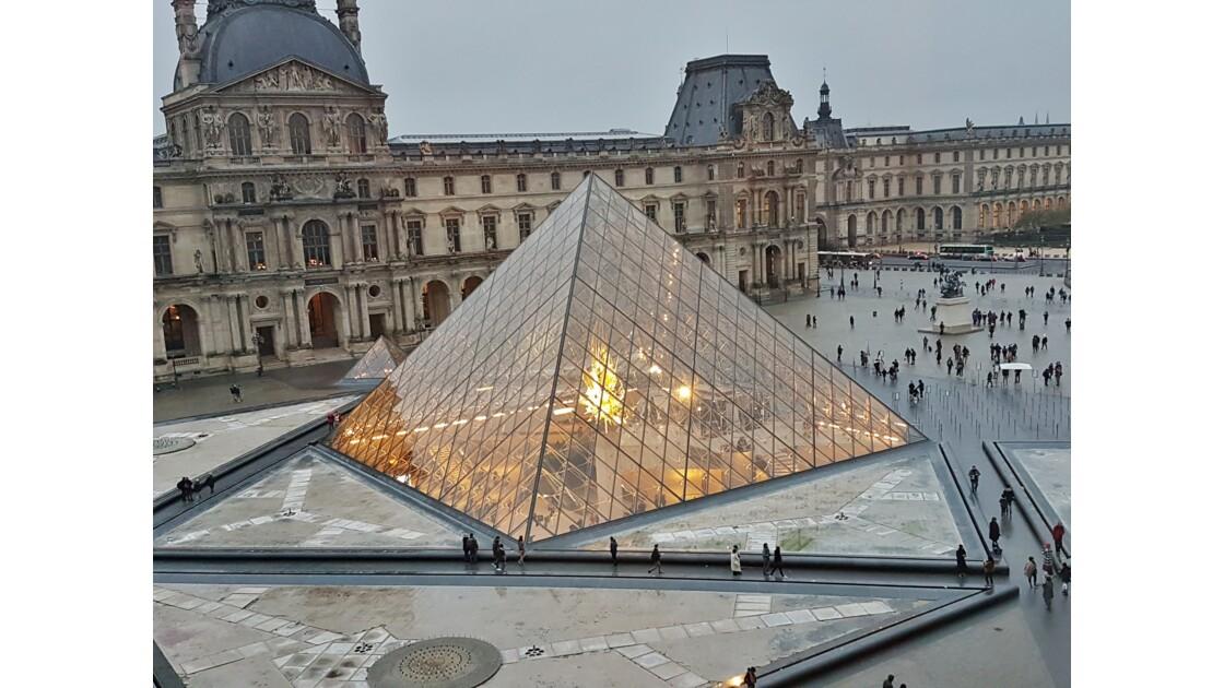 Feu de pyramide