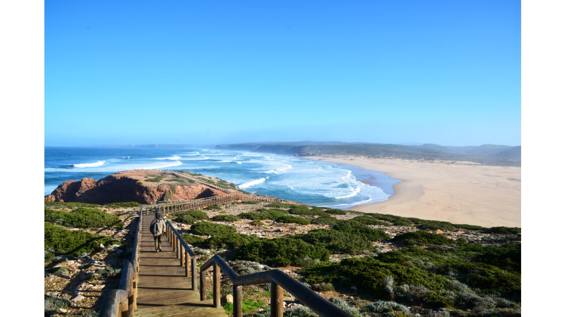 Plage de Bordeira Algarve Portugal