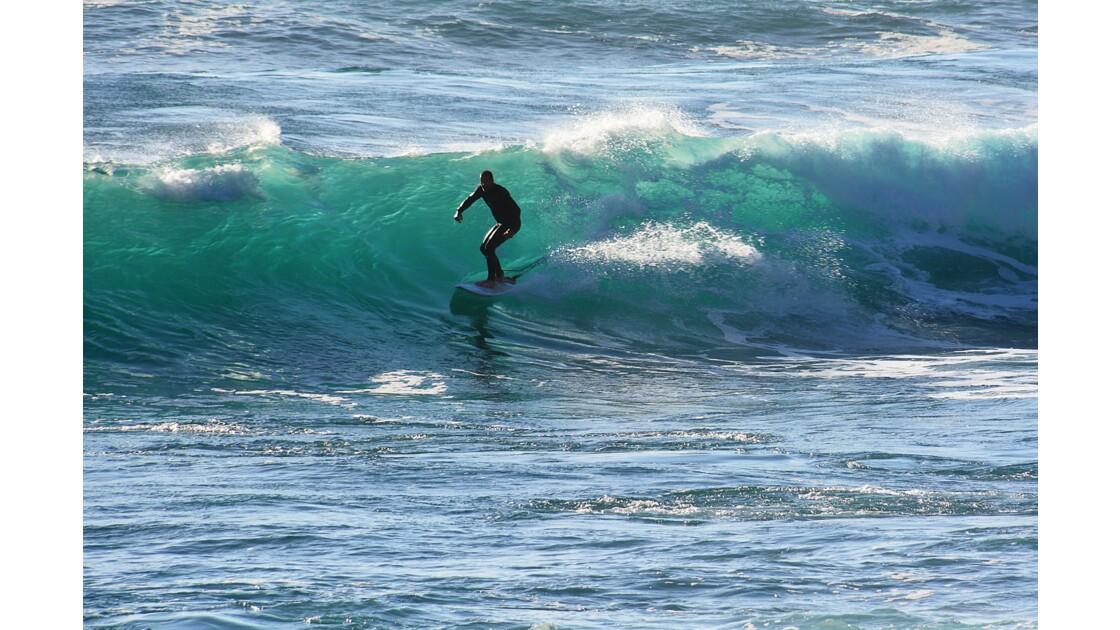le surfeur Portugal