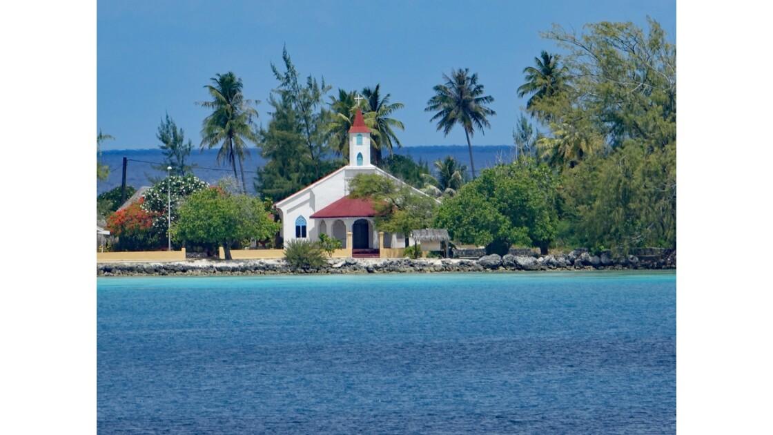 Tuamotu Fakarava - l'église de Rotoava 1