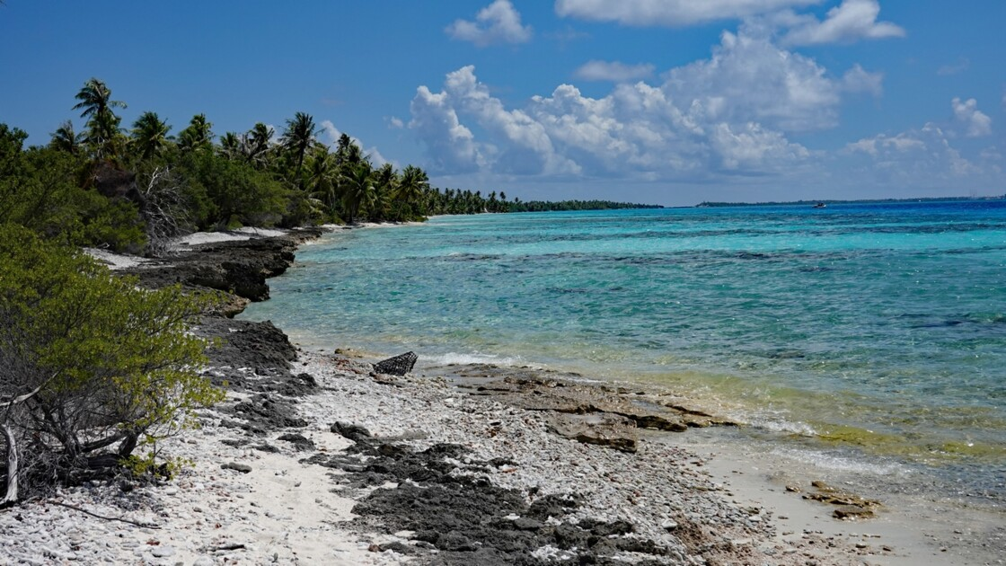 Tuamotu Fakarava - PK 9 La plage 1