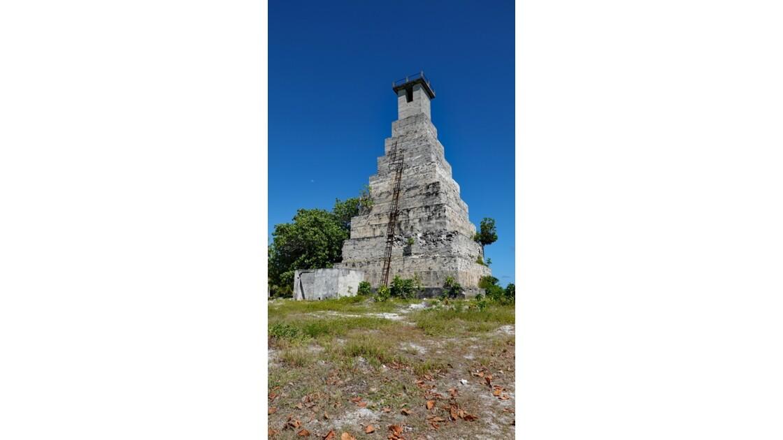 Tuamotu Fakarava - Ancien phare de Topaka 1