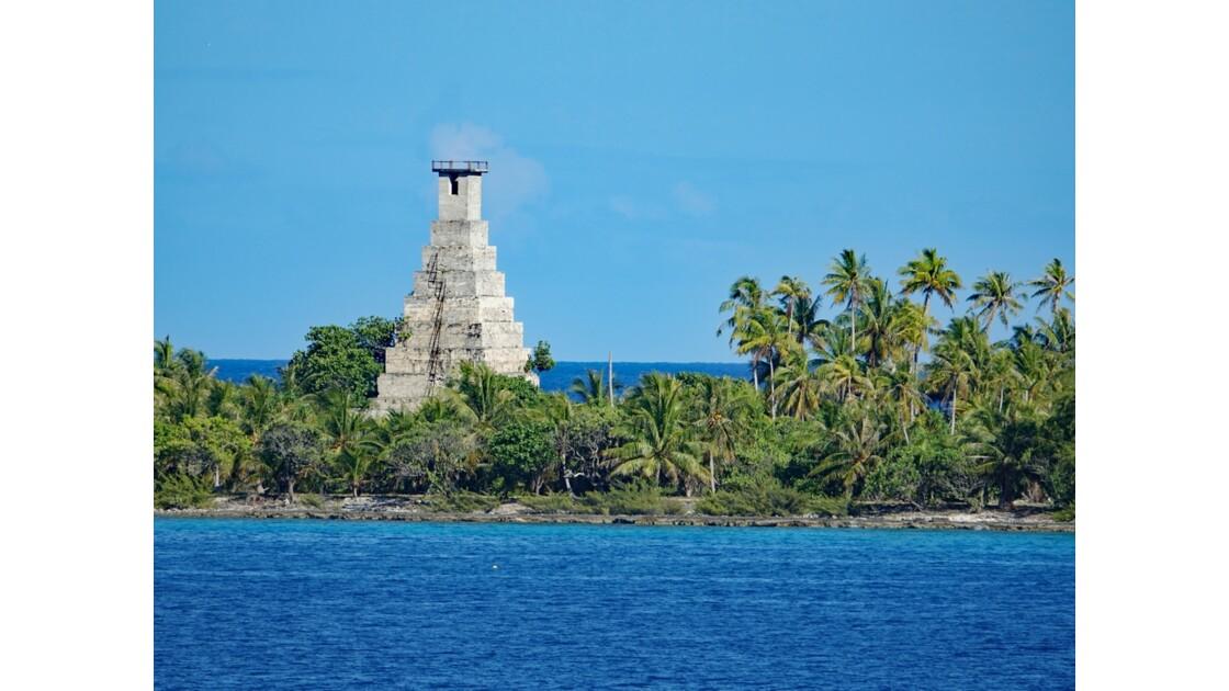 Tuamotu Fakarava - Ancien phare de Topaka 3