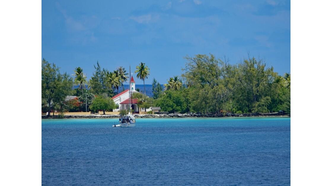 Tuamotu Fakarava - l'église de Rotoava 2