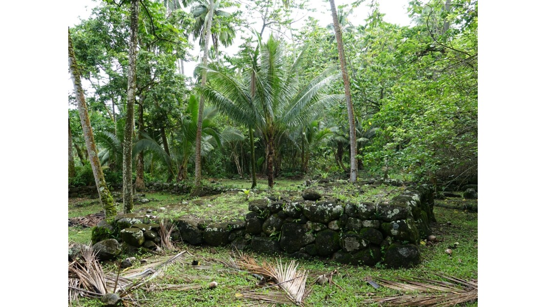 Les Marquises - Nuku Hiva - Site de Kamuihei 3