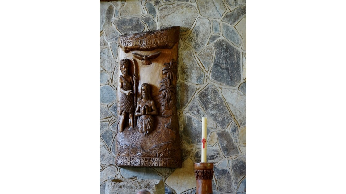 Nuku Hiva Notre-Dame-des-Iles-Marquises Le chemin de croix 2
