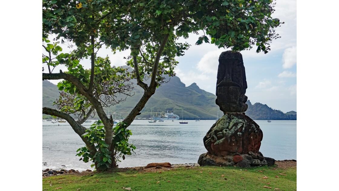 Les Marquises Nuku Hiva Taiohae Site de Temehea 1