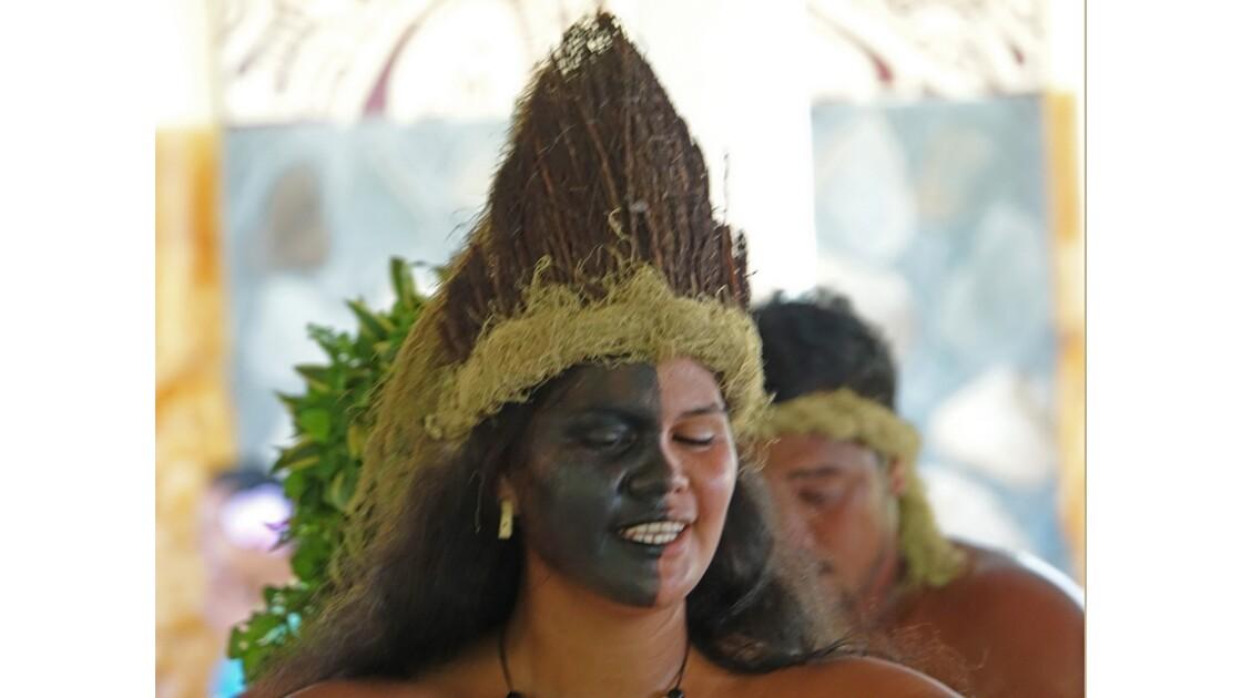 Les Marquises - Ua Pou Groupe folklorique de Hakahau 11