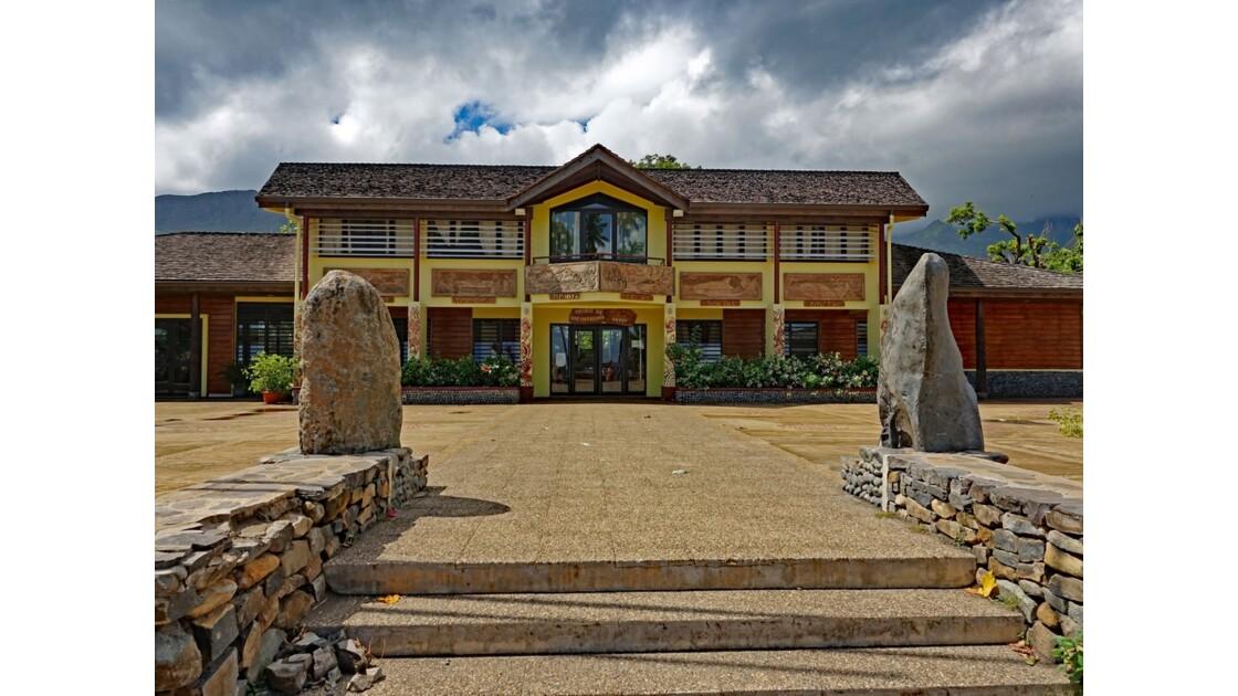 Les Marquises - Ua Pou Hakahau La mairie 1