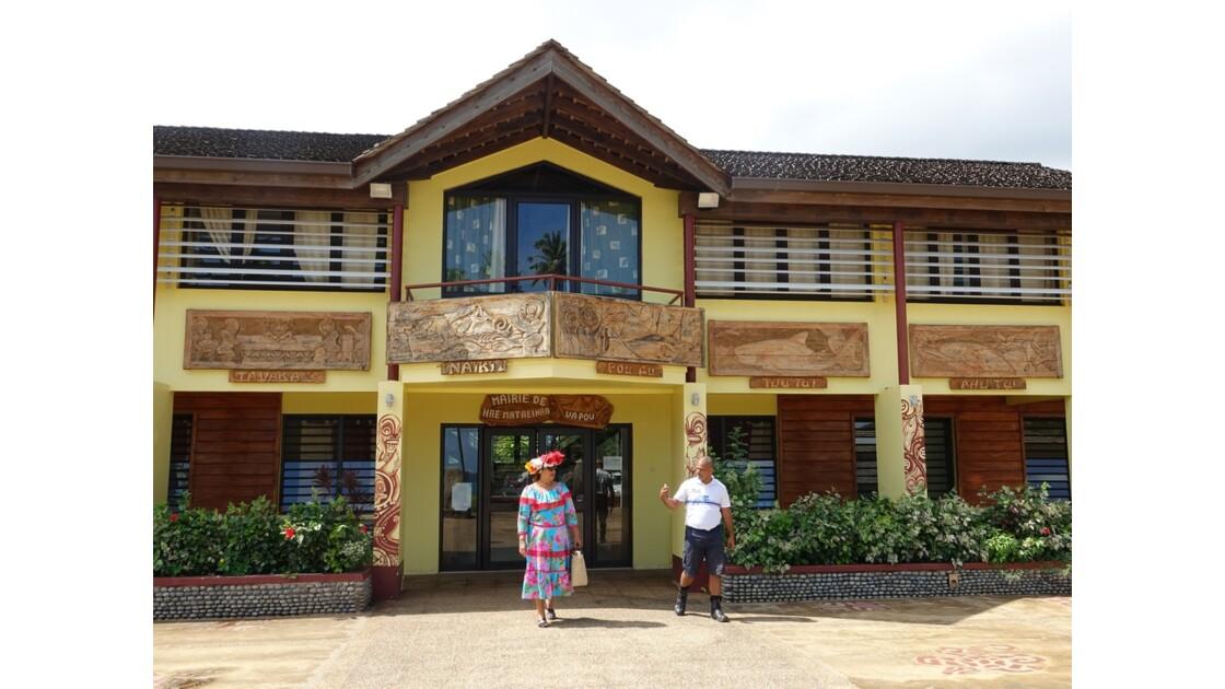 Les Marquises - Ua Pou Hakahau La mairie 2