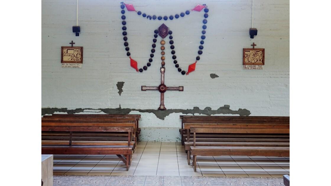 Les Marquises - Ua Pou Hakahau L'église St-Etienne 7