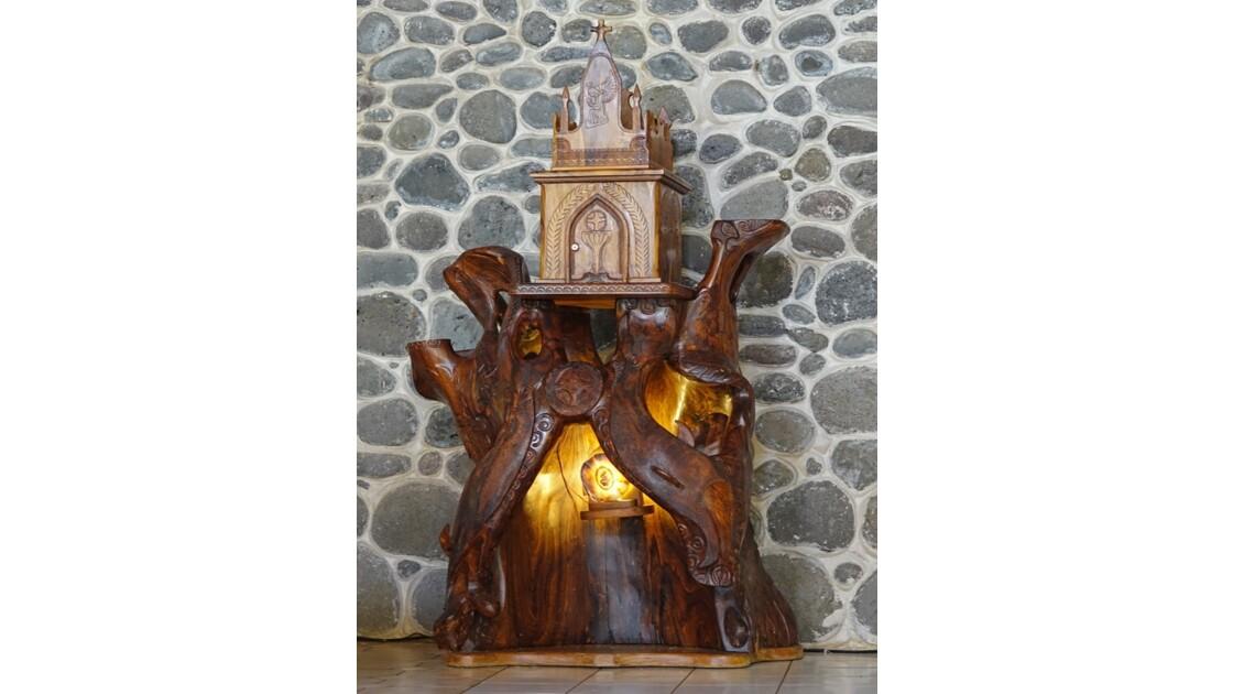 Les Marquises - Tahuata Vaitahu - Eglise Sainte Mère de Dieu Tabernacle