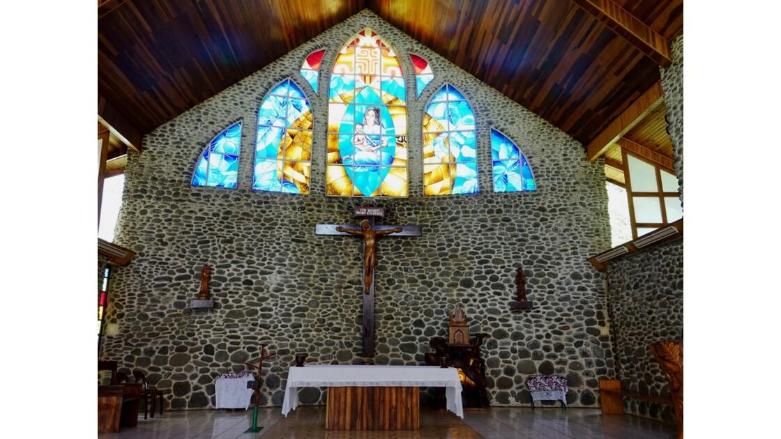 Les Marquises - Tahuata Vaitahu - Eglise Sainte Mère de Dieu 3