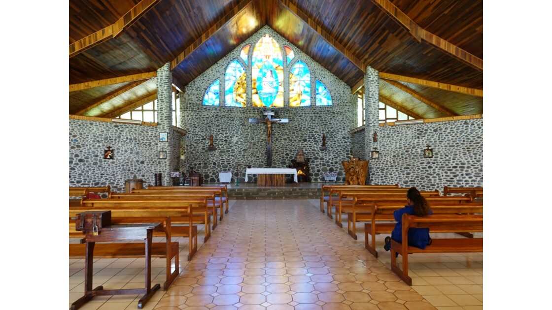 Les Marquises - Tahuata Vaitahu - Eglise Sainte Mère de Dieu 4