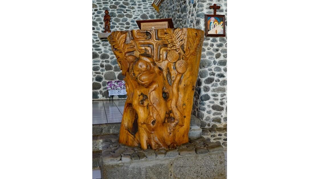 Les Marquises - Tahuata Vaitahu - Eglise Sainte Mère de Dieu La Chaire 1