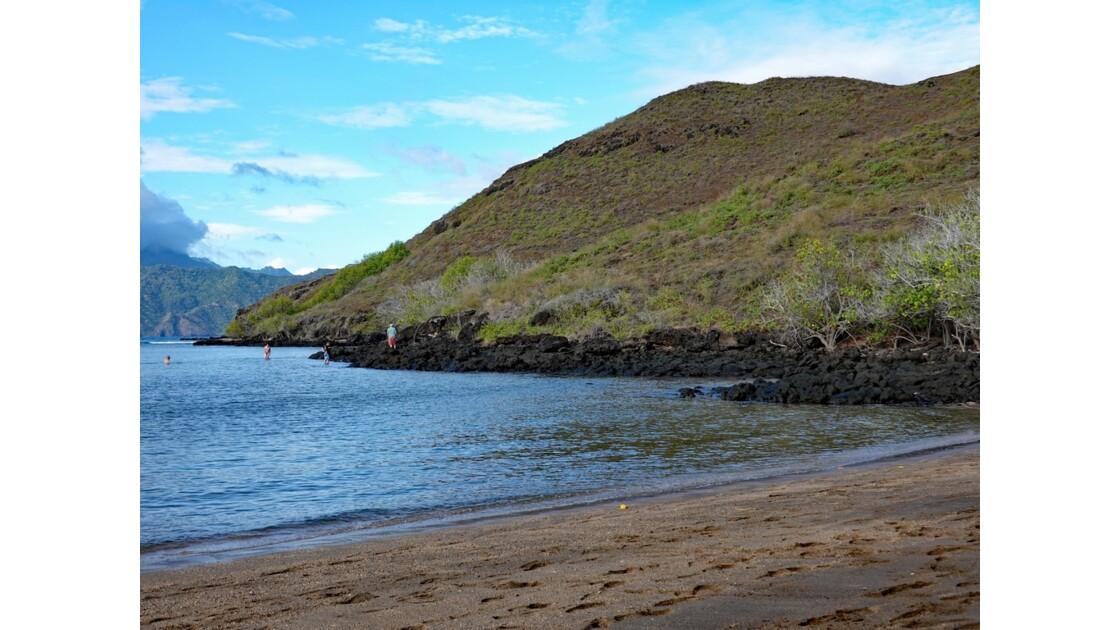 Les Marquises - Tahuata Baignade sur la plage de Kokuu 5