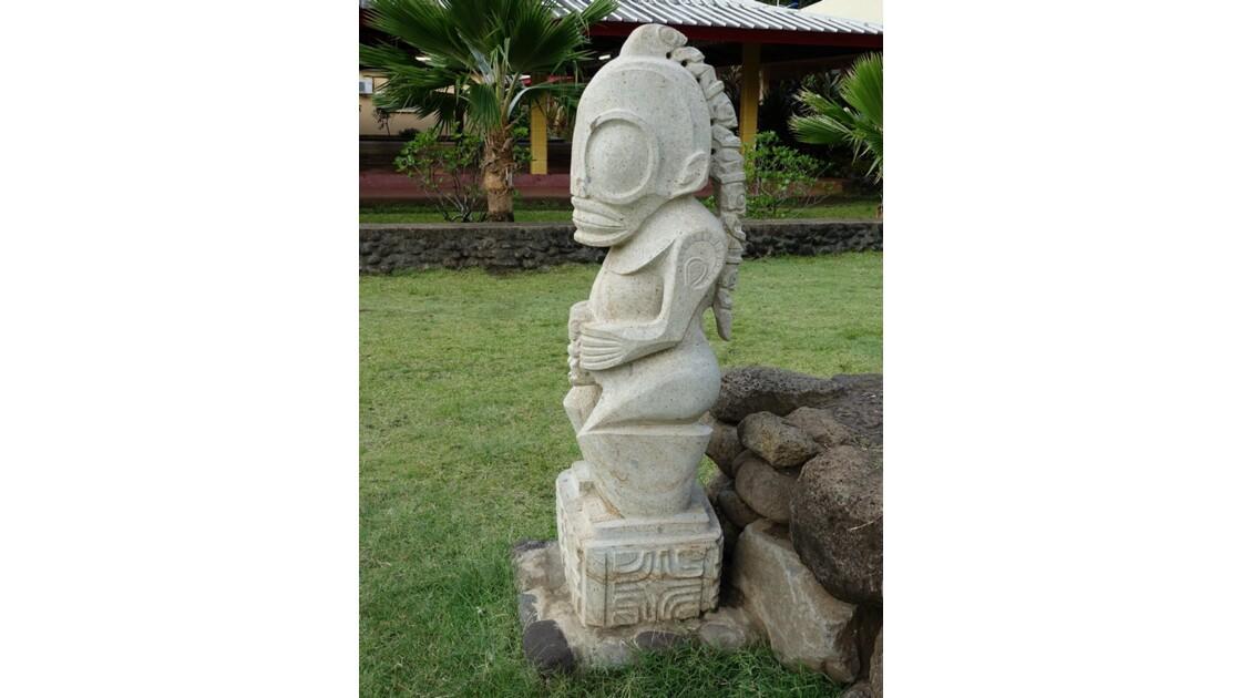 Les Marquises - Tahuata Les sculptures de Vaitahu 4