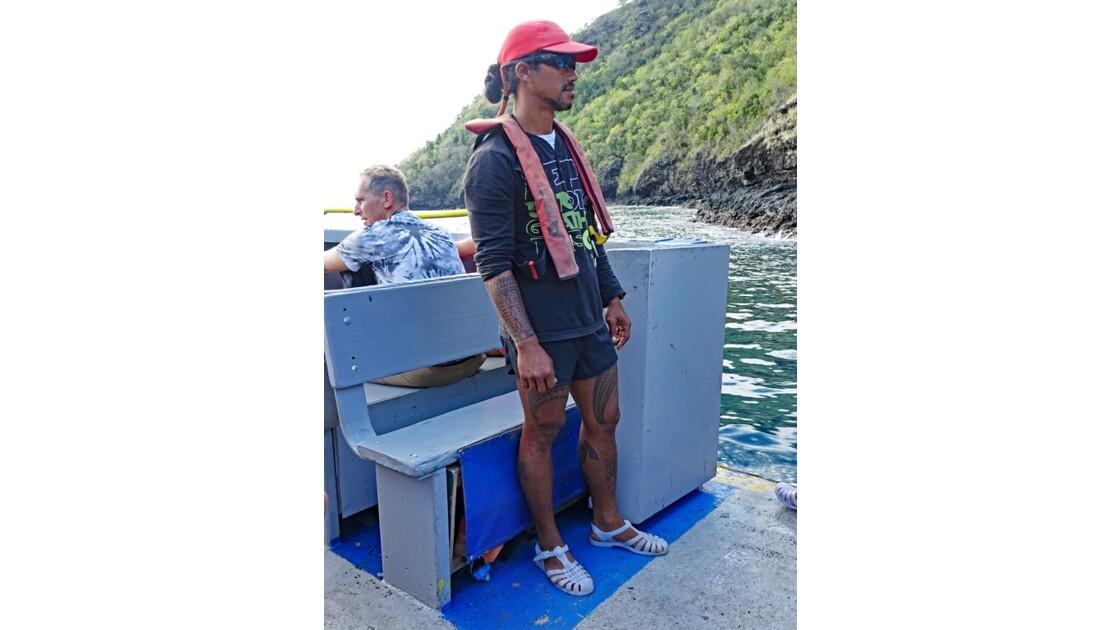 Les Marquises - Tahuata marin de l'Aranui