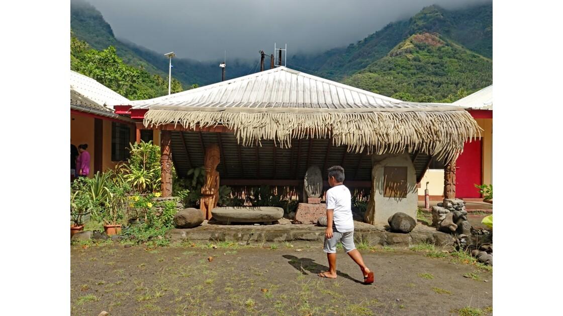 Les Marquises - Tahuata Vaitahu Le musée