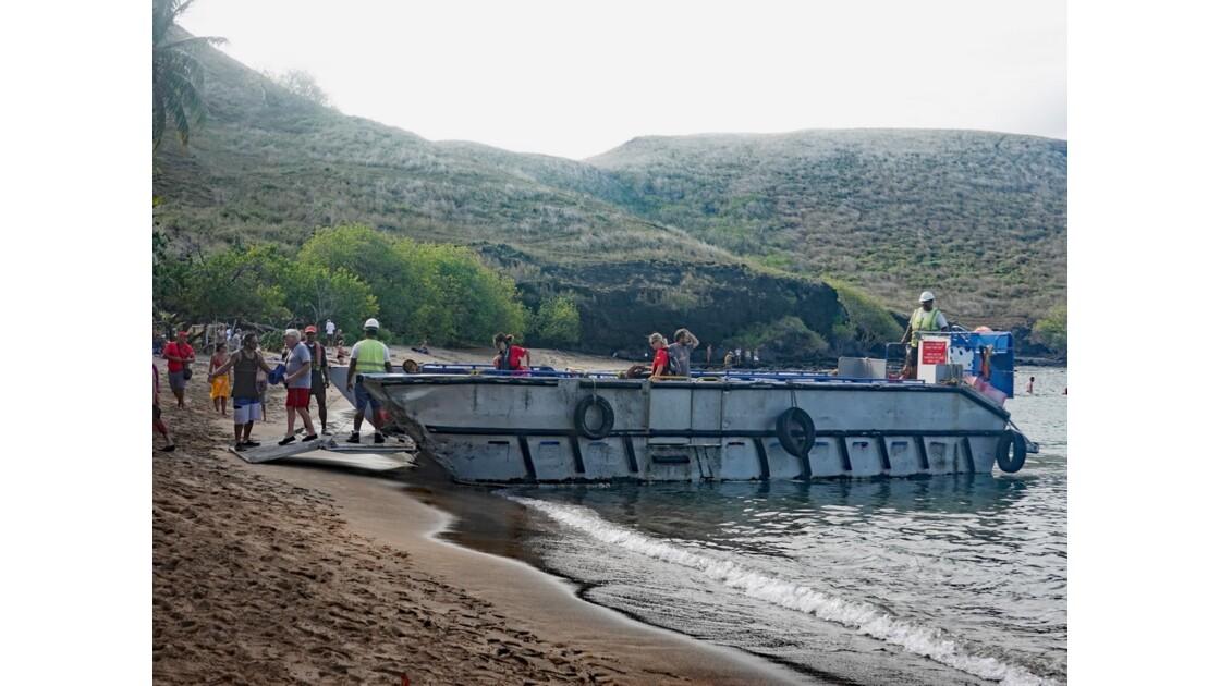 Les Marquises - Tahuata Baignade sur la plage de Kokuu 1