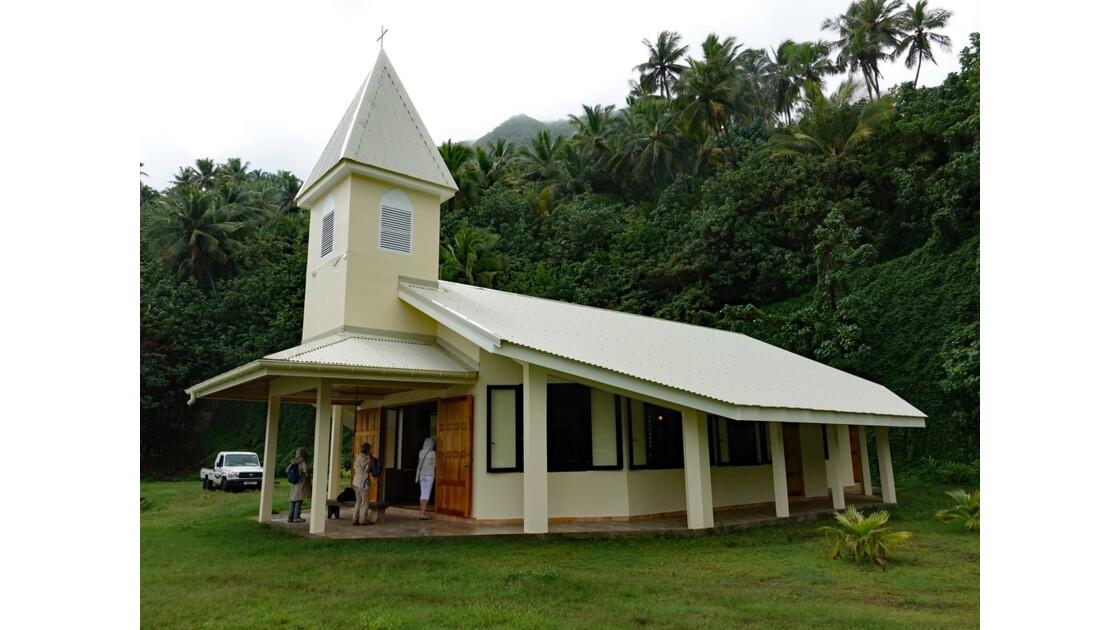 Les Marquises - Hiva Oa L'église de Puamau 2