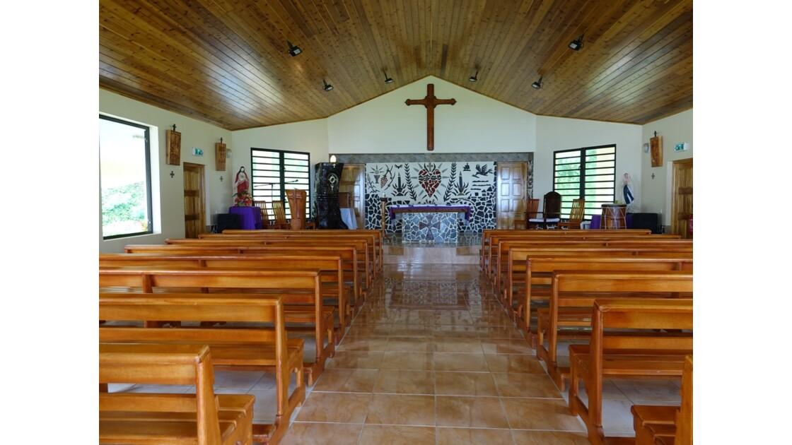 Les Marquises - Hiva Oa L'église de Puamau 3