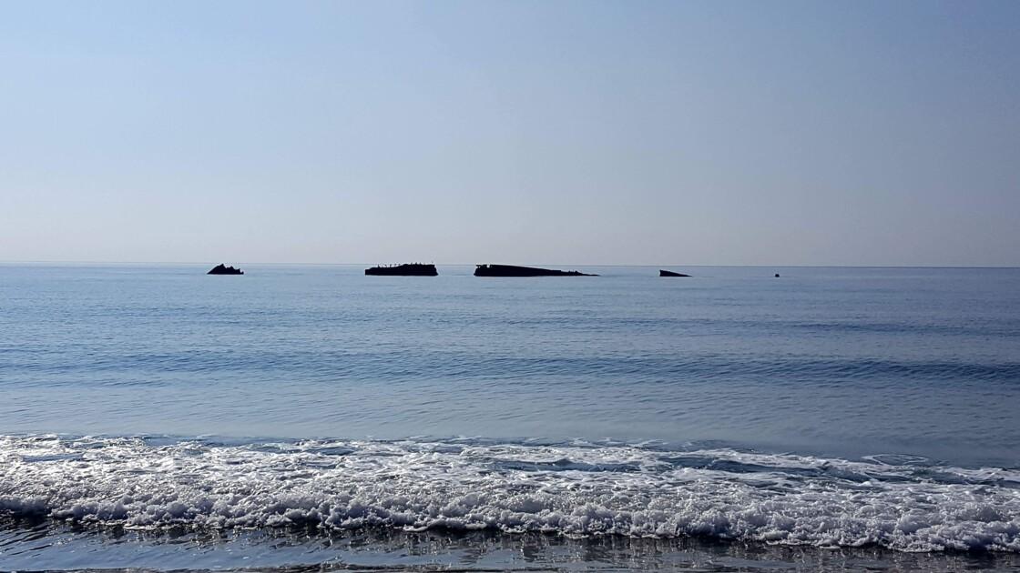 Epave Cargo plage de Calzarellu, 20243