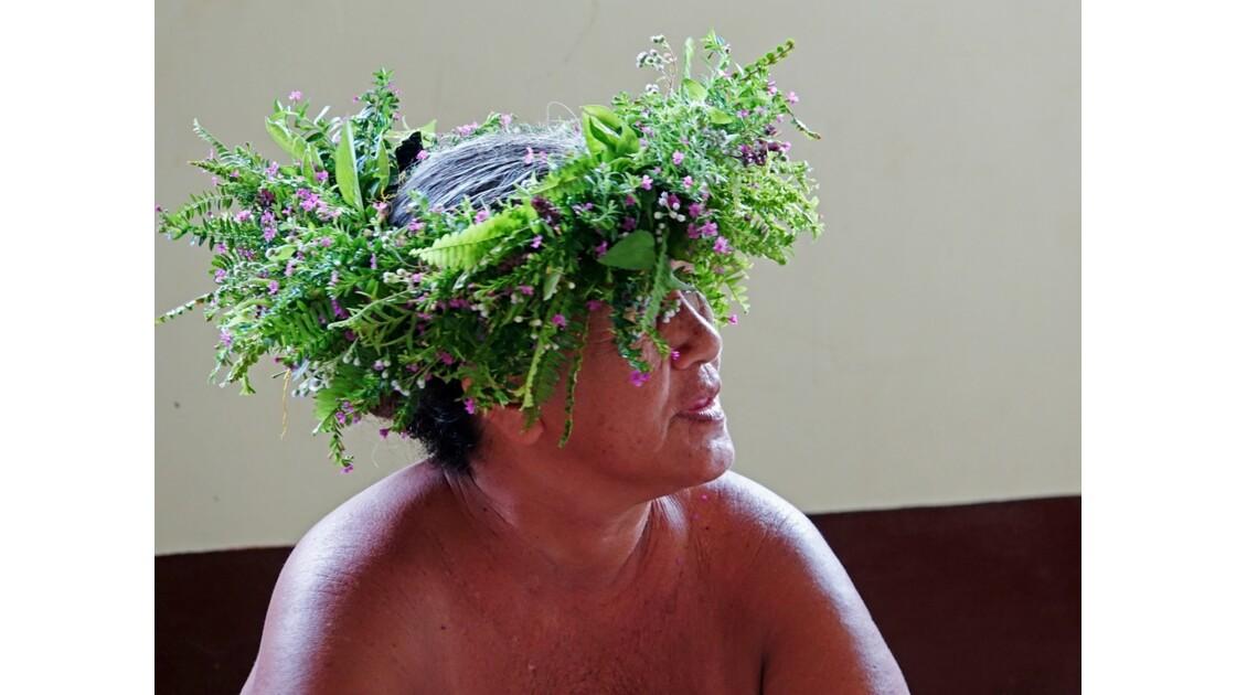 Les Marquises Fatu Hiva Omoa Au marché artisanal 2