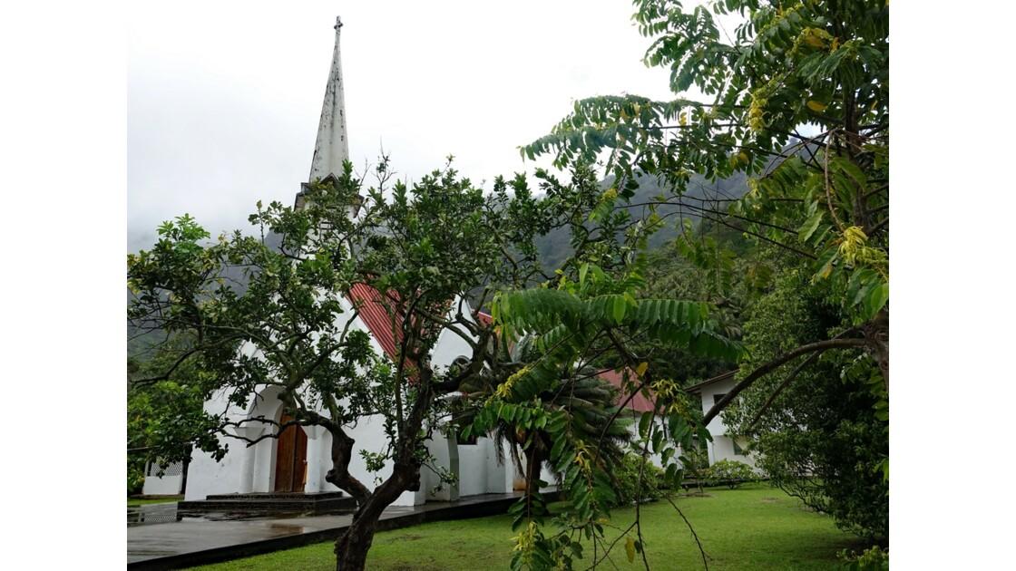 Les Marquises Fatu Hiva L'église d'Omoa 4