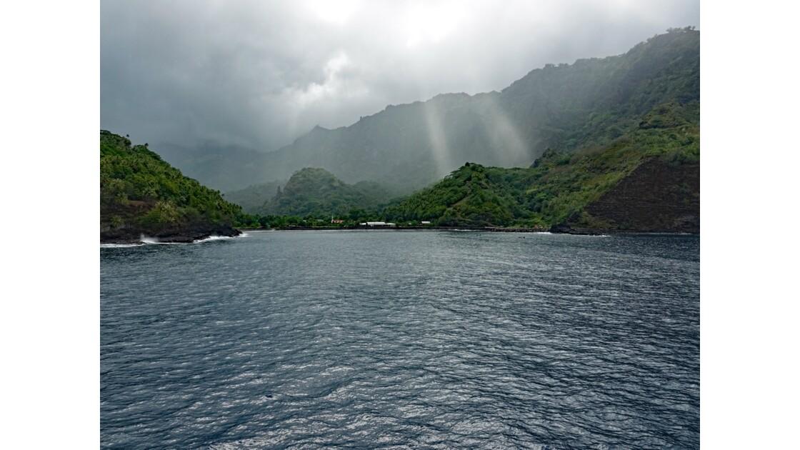 Les Marquises Fatu Hiva baie de Omoa 6