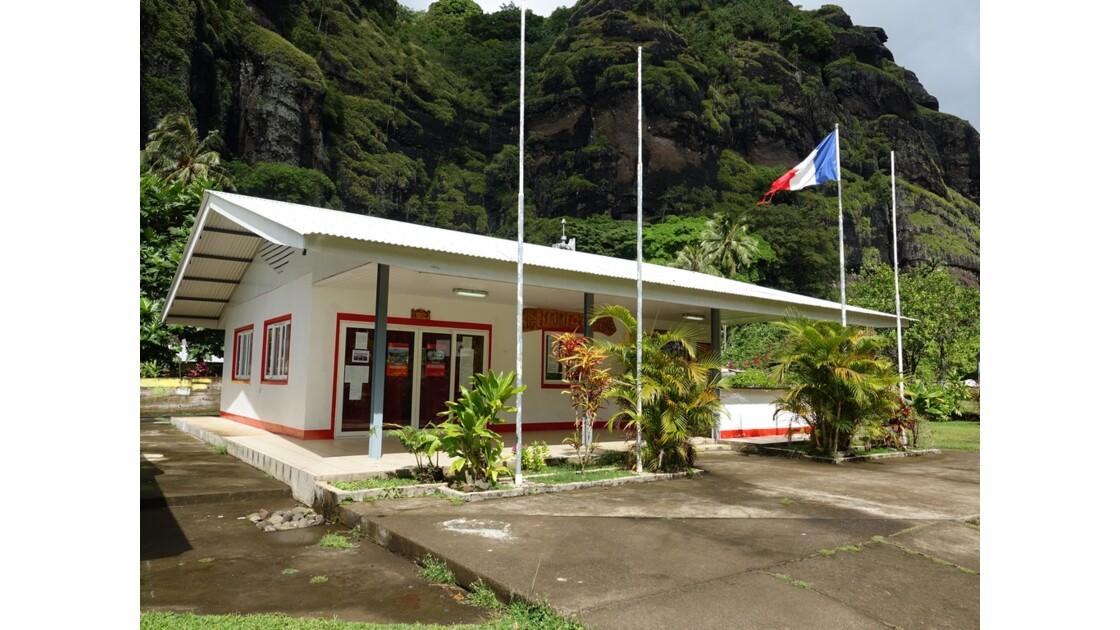 Les Marquises Fatu Hiva Hanavave La mairie