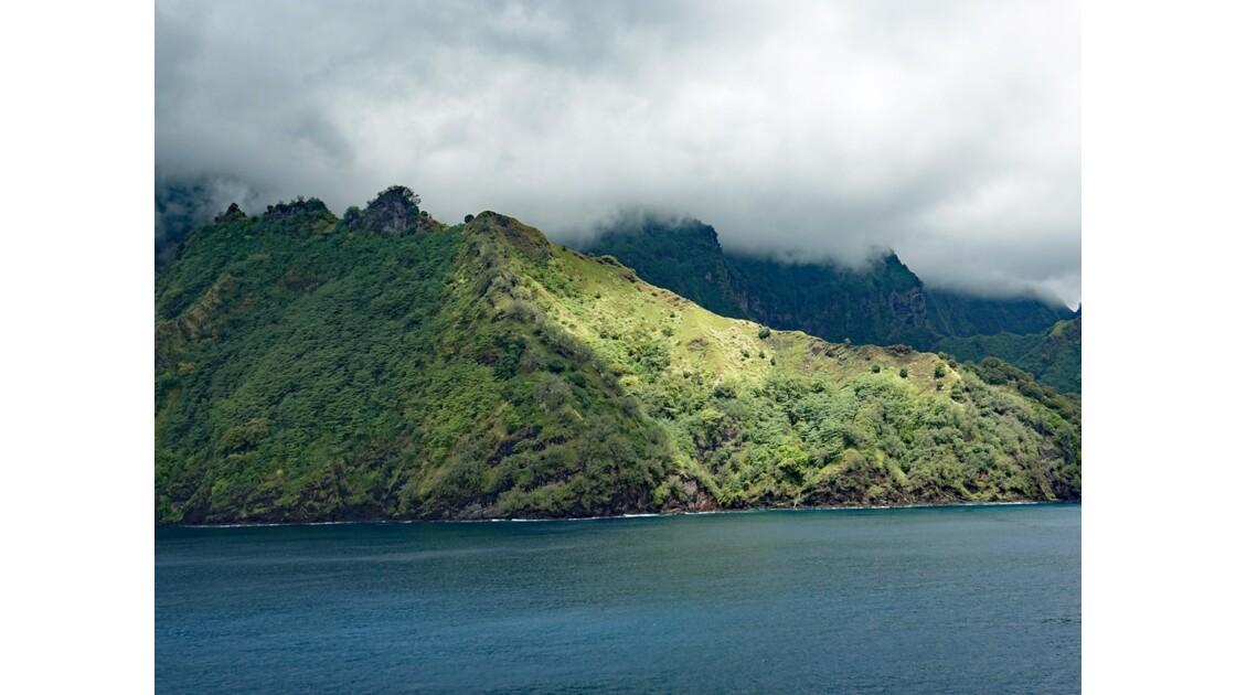 Les Marquises Fatu Hiva Hanavave La Baie des Vierges 2