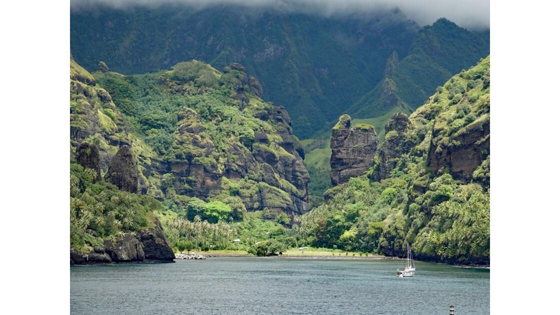 Les Marquises Fatu Hiva Hanavave La Baie des Vierges 4