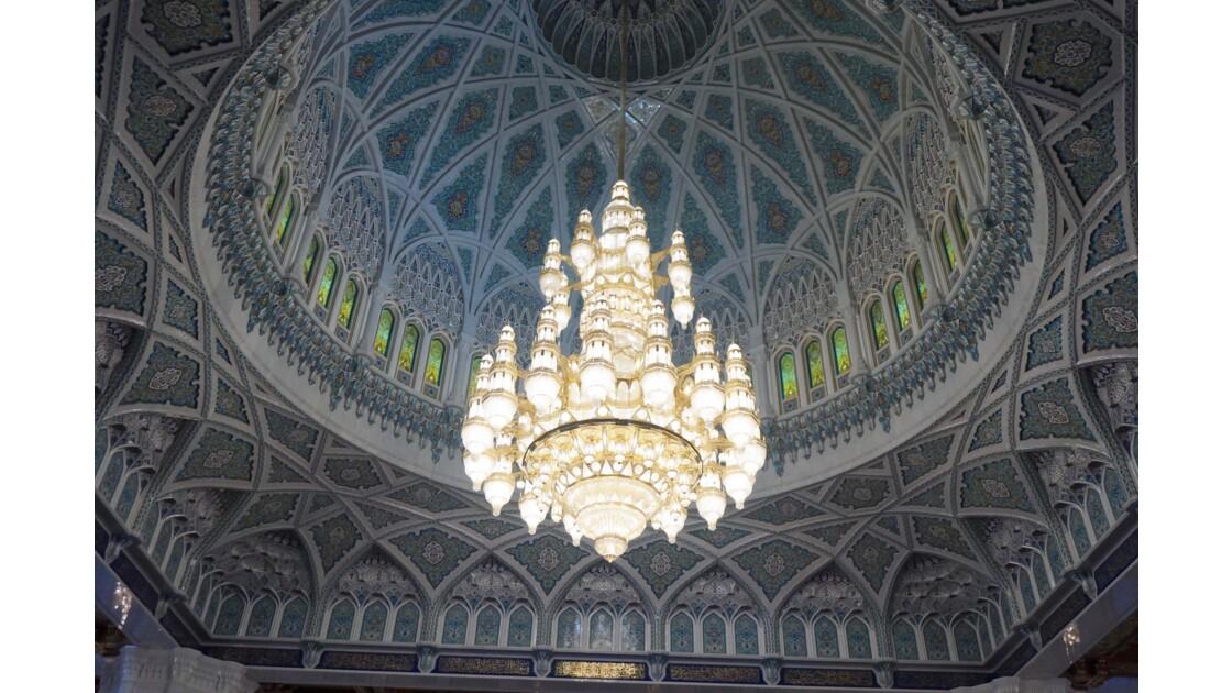Mascate, grande mosquée