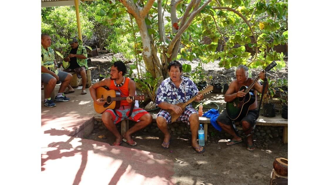 Les Marquises Ua Huka - Accueil à Hokatu 5