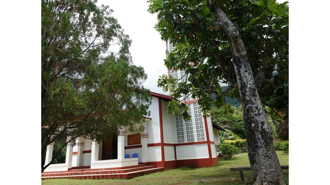 Les Marquises Ua Huka - Eglise Ste-Thérèse-de-l'Enfant-Jésus de Hane 2