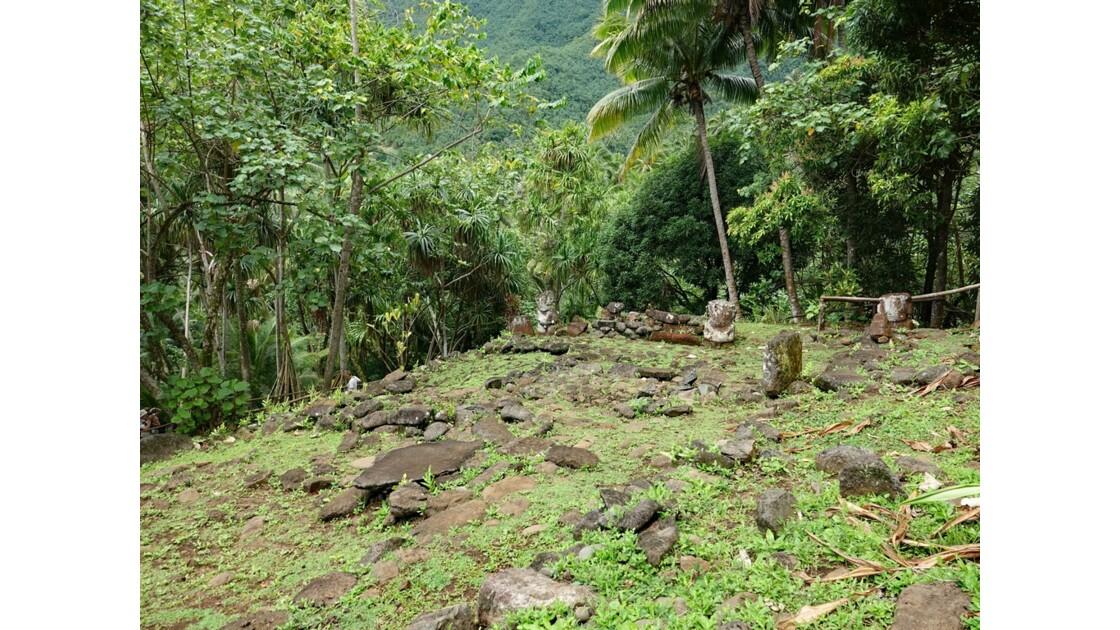 Les Marquises Ua Huka - Site de Meiaute 1