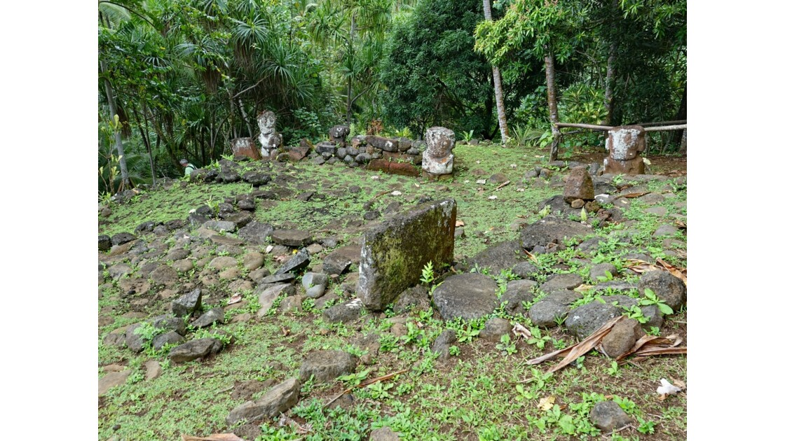 Les Marquises Ua Huka - Site de Meiaute 2