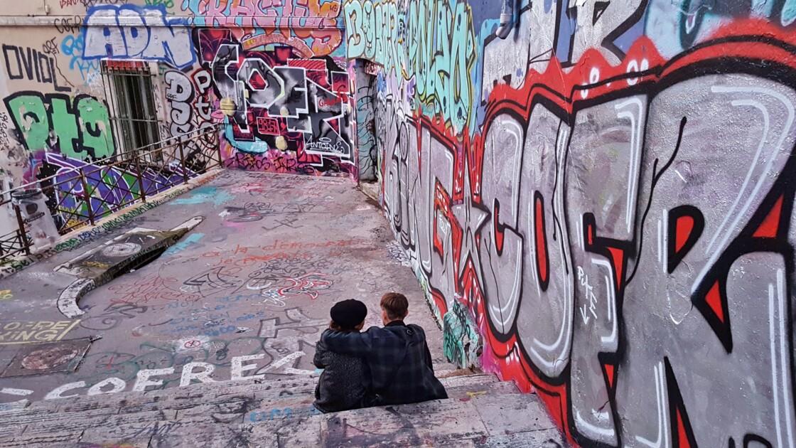Les mots sur le mur