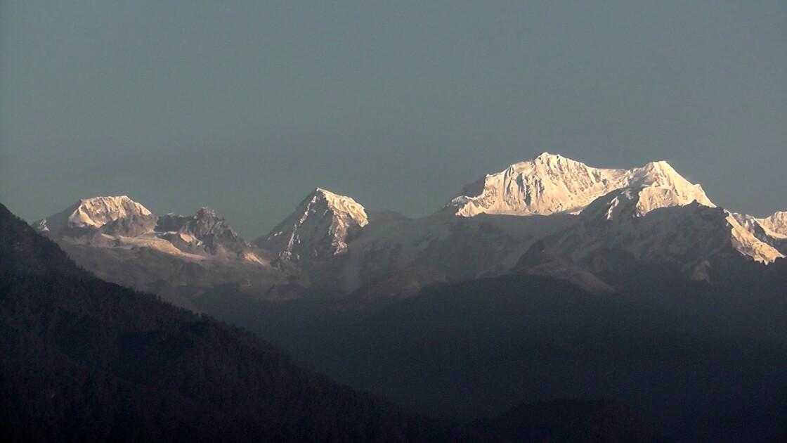 Chaîne du Kanchenjunga