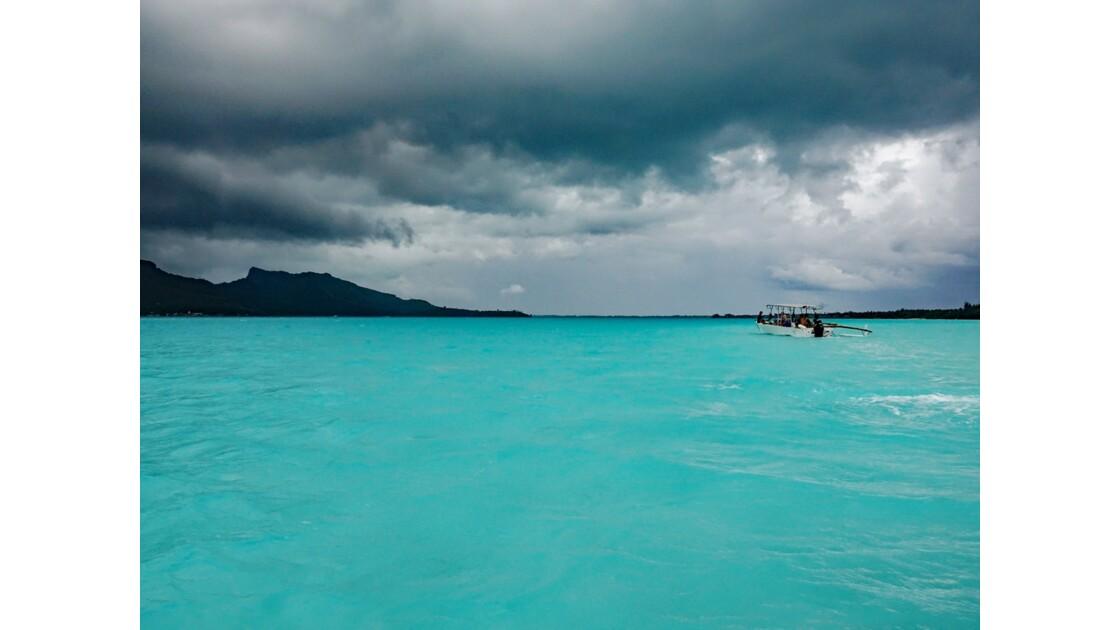 Bora Bora Sur le lagon 3