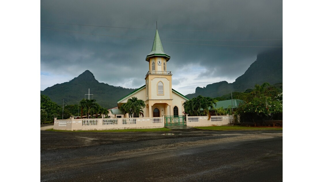 Bora Bora Eglise de Faanui 2