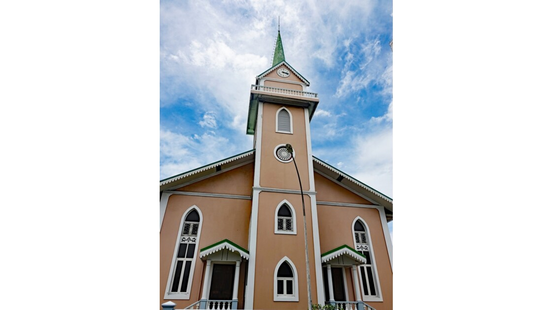 Tahiti Papeete Temple protestant de Paofai 3