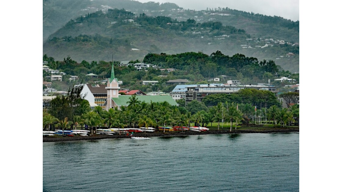 Tahiti Papeete Jardin de Paofai 1