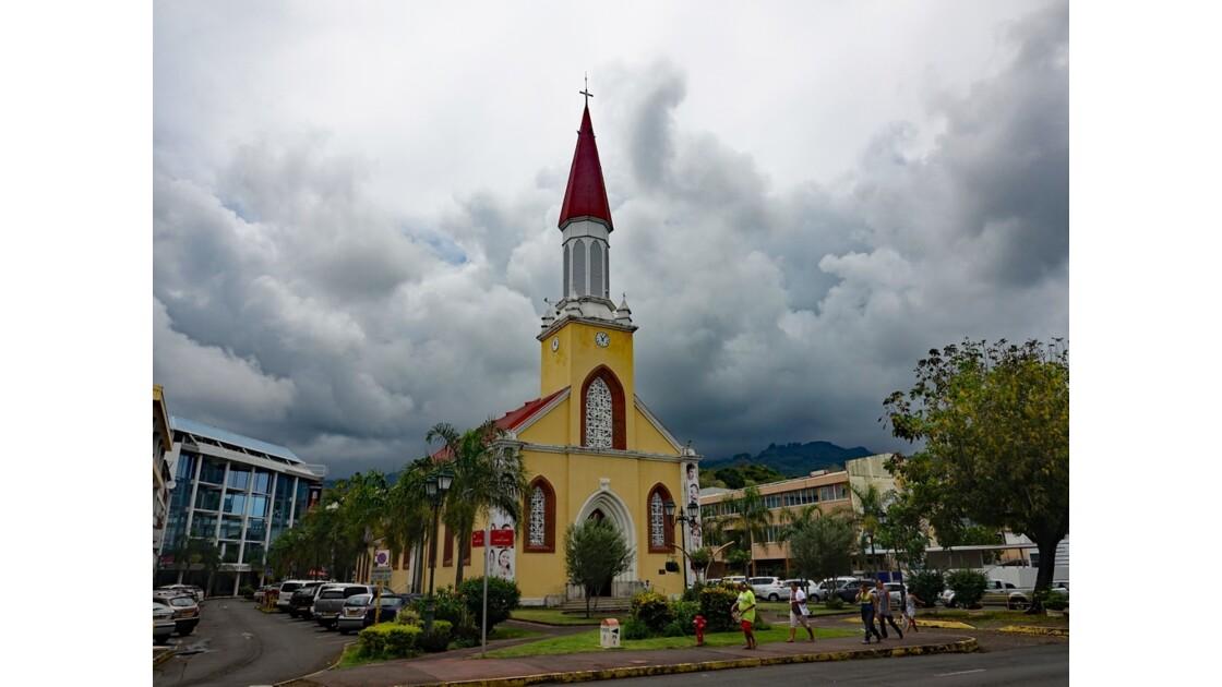 Tahiti Papeete Cathédrale de l'immaculée conception 1
