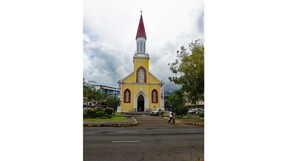 Tahiti Papeete Cathédrale de l'immaculée conception 2