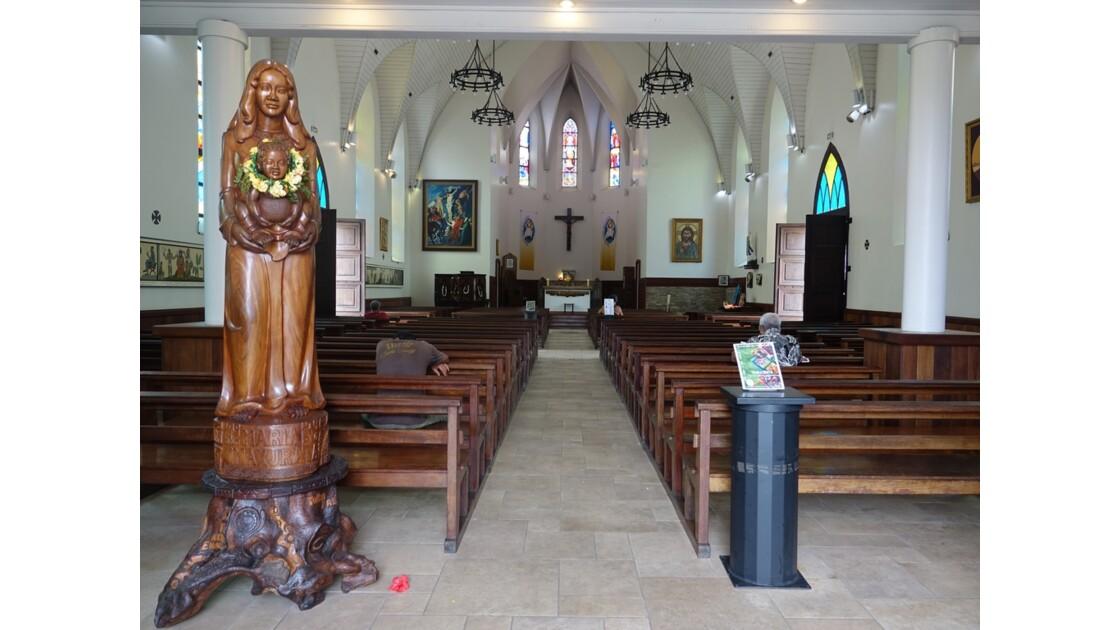 Tahiti Papeete Cathédrale de l'immaculée conception 3