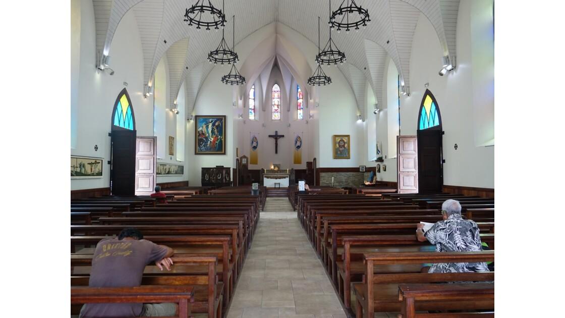 Tahiti Papeete Cathédrale de l'immaculée conception 4